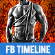 Gym and Workout Timeline Cover 4 - GraphicRiver Item for Sale
