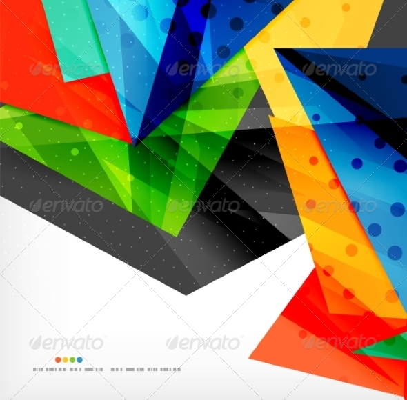 GraphicRiver Abstract Geometric Shapes Background 8185834