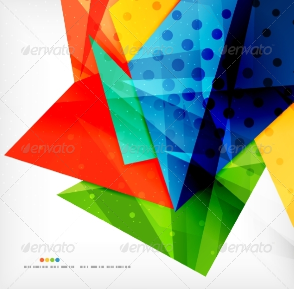 GraphicRiver Abstract Geometric Shapes Background 8185835