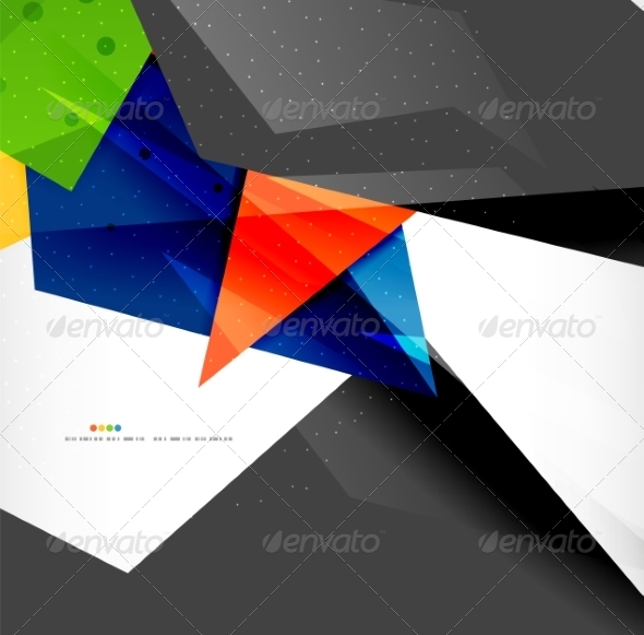 GraphicRiver Abstract Geometric Shapes Background 8185848