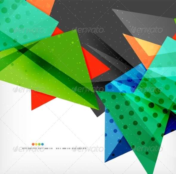 GraphicRiver Abstract Geometric Shapes Background 8185855