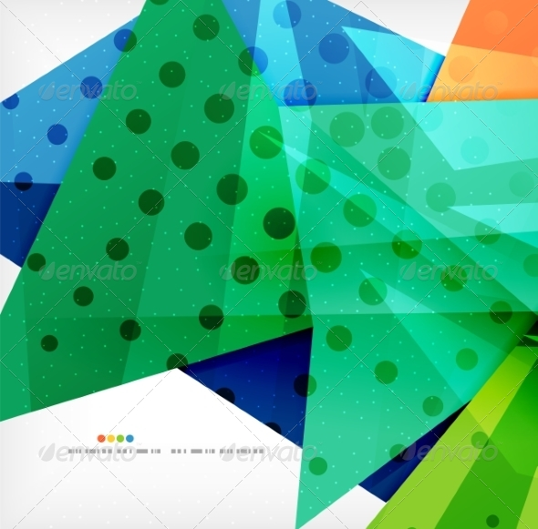 GraphicRiver Abstract Geometric Shapes Background 8185856