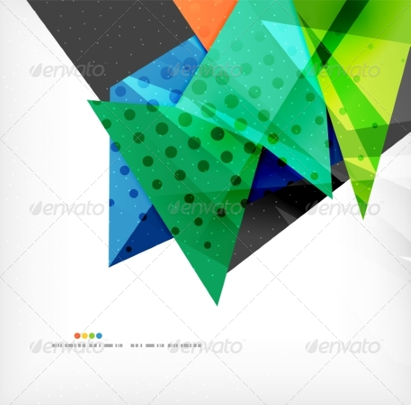 GraphicRiver Abstract Geometric Shapes Background 8185859