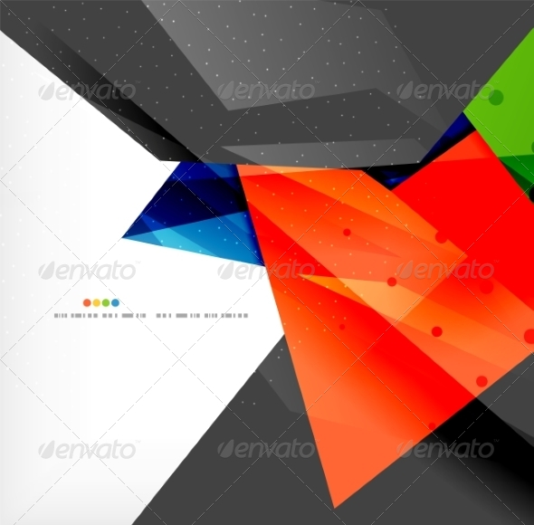 GraphicRiver Abstract Geometric Shapes Background 8185879