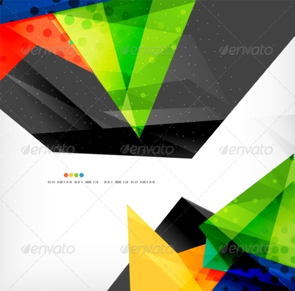 GraphicRiver Abstract Geometric Shapes Background 8185880