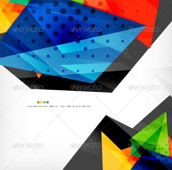GraphicRiver Abstract Geometric Shapes Background 8185882