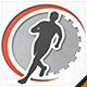 Run Time Fitness Logo - GraphicRiver Item for Sale