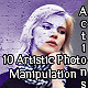 10 Artistic Photo Manipulation Actions - GraphicRiver Item for Sale