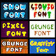 English Thematic Fonts for Design - GraphicRiver Item for Sale