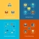 Hosting Flat Icons - GraphicRiver Item for Sale