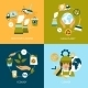 Ecology Flat Icons - GraphicRiver Item for Sale