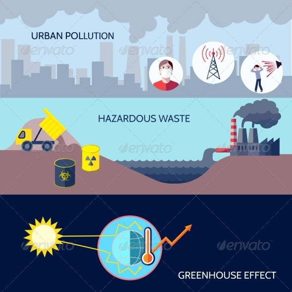 GraphicRiver Pollution Concept 8186297
