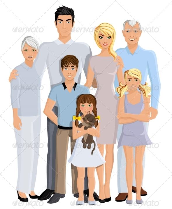 GraphicRiver Family Generation Portrait 8186300