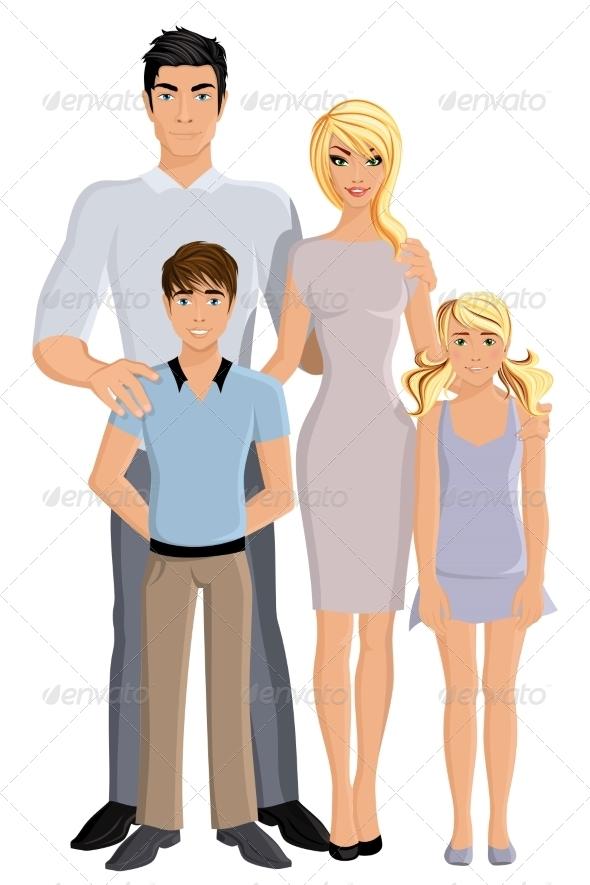 GraphicRiver Happy Family 8186303