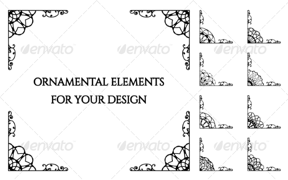 GraphicRiver Calligraphic Design Elements 8186734