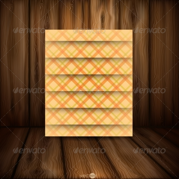 GraphicRiver Abstract Square On Beige Background 8186973
