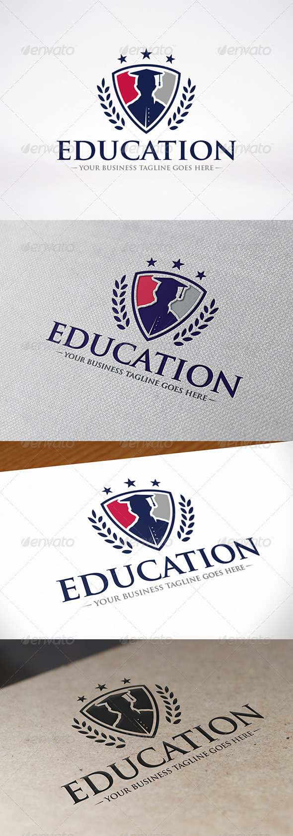 GraphicRiver Education Logo 8186979
