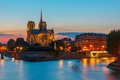Cathedral of Notre Dame de Paris at sunset - PhotoDune Item for Sale
