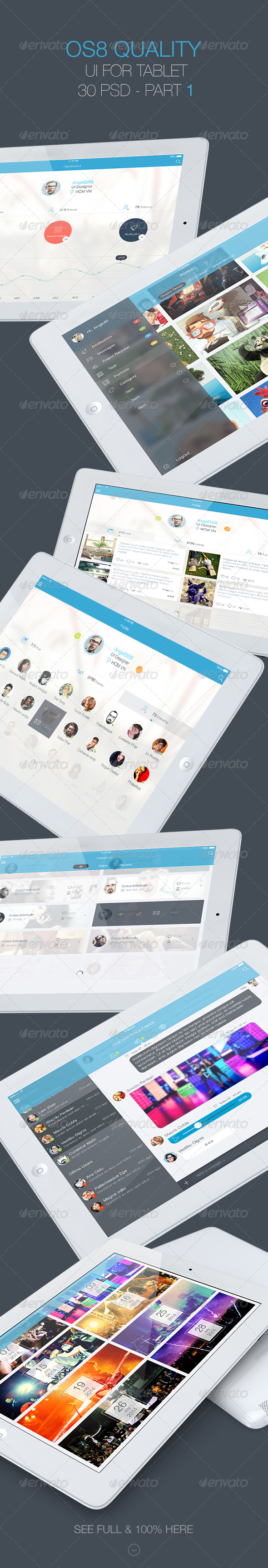 GraphicRiver OS 8 Quality UI for Tablet Part 1 8187093