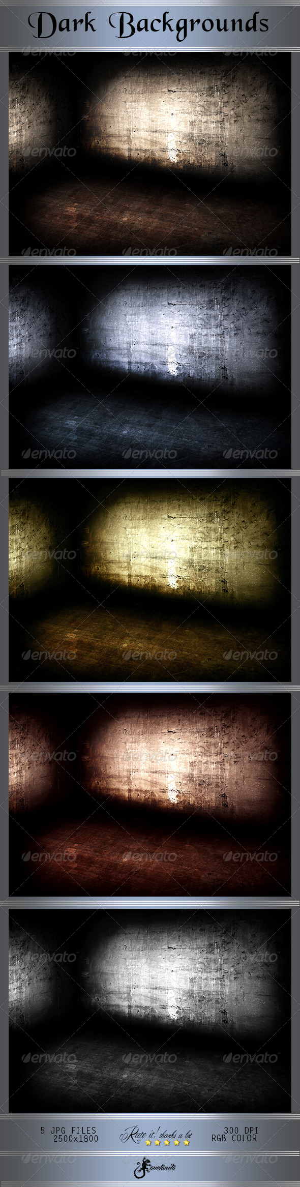 GraphicRiver Scene Dark Grunge Backgrounds 8187215