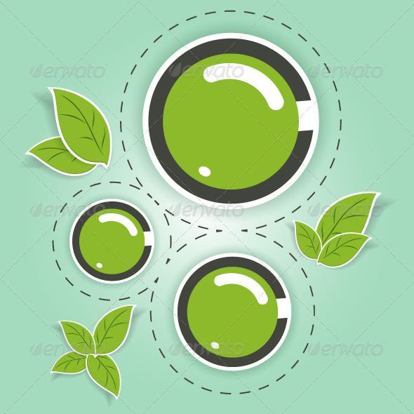GraphicRiver Eco-Friendly Green Circles 8187702