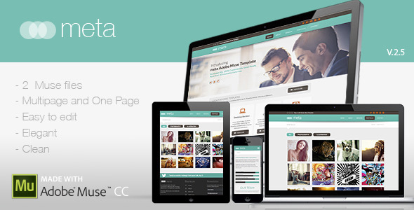 ThemeForest Meta Multi-Purpose Template 7958239