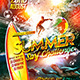 Summer Surf Challenge Flyer Template - GraphicRiver Item for Sale