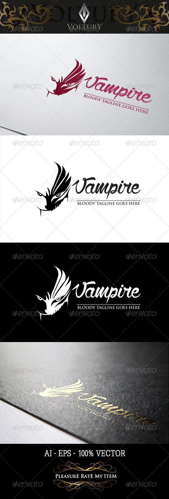GraphicRiver Vampire Logo 8188375