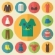 Clothing Icons Set - GraphicRiver Item for Sale