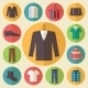 Mens Clothing Icons Set - GraphicRiver Item for Sale