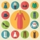 Woman Clothing Icons Set - GraphicRiver Item for Sale