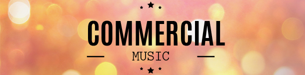 Commercial music