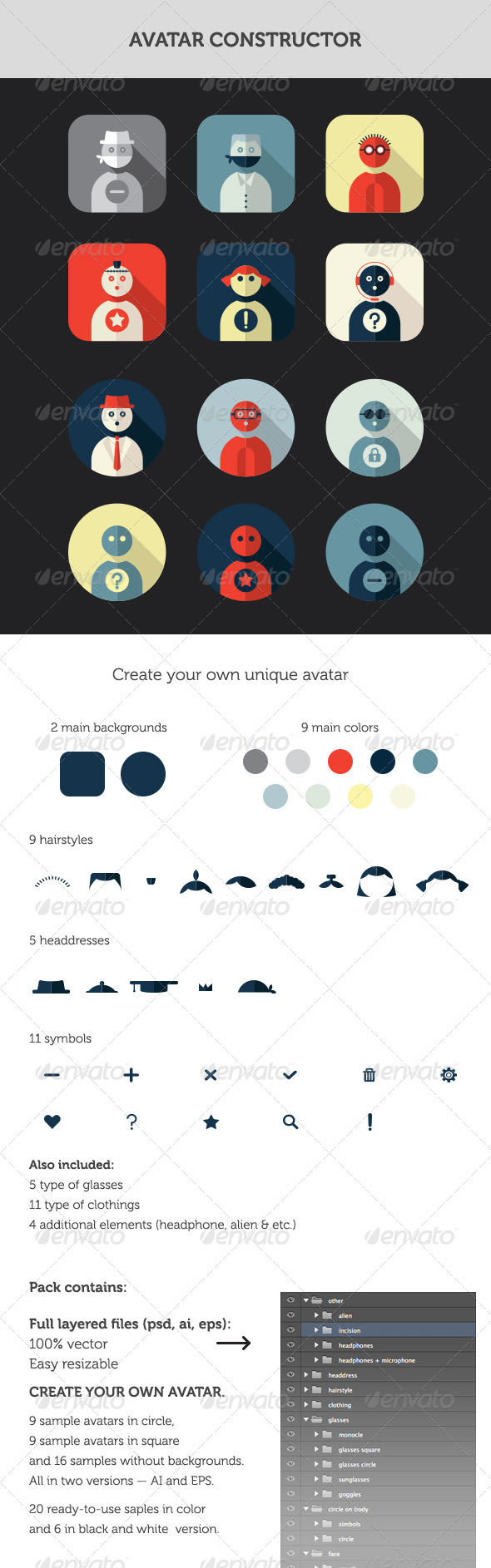 GraphicRiver Avatar Constructor 8178194