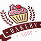 Cupcake Bakery Logo - GraphicRiver Item for Sale