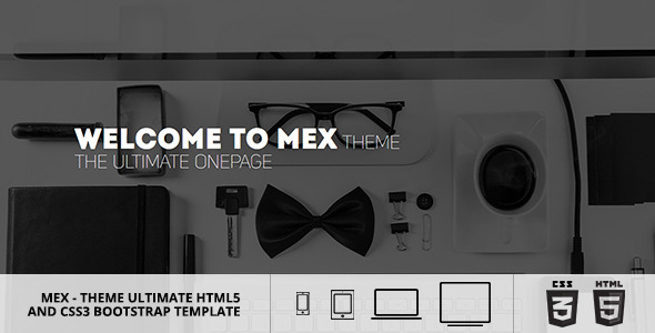 MEX Minimal Multipurpose Theme - Creative Site Templates