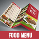Yummy Food Menu - GraphicRiver Item for Sale