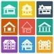 Set of House Icons - GraphicRiver Item for Sale