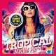 Tropical Summer Sunset Party Flyer - GraphicRiver Item for Sale