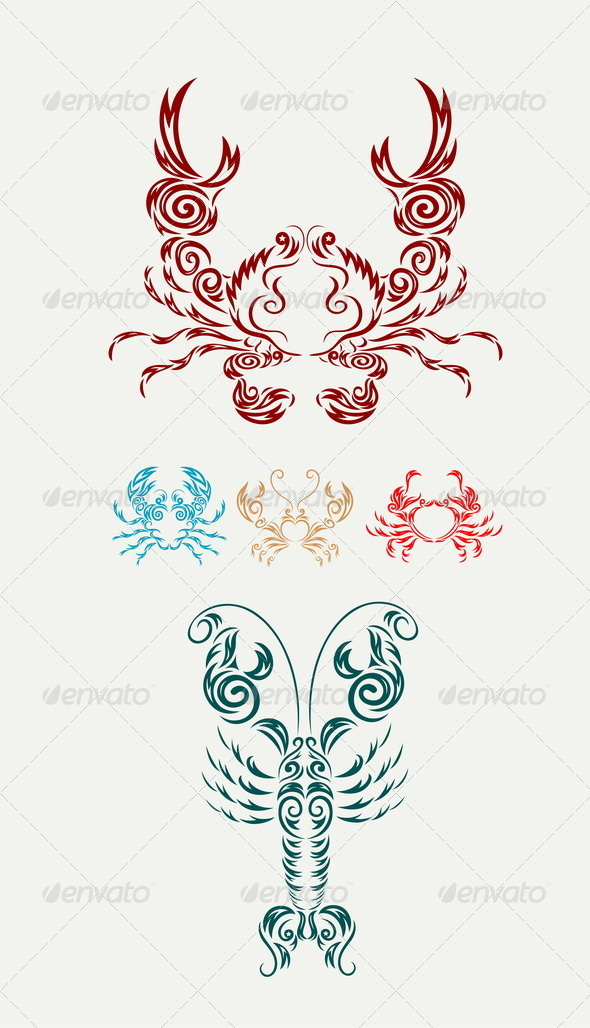 GraphicRiver Crab and Lobster 8188805