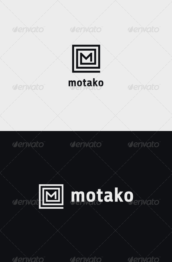 GraphicRiver M Square Logo 8189007