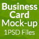 Business Card Mock-up SS-8 - GraphicRiver Item for Sale