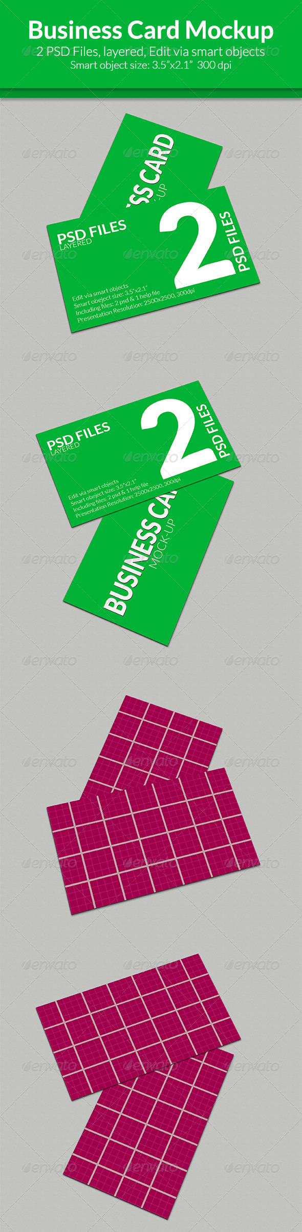 GraphicRiver Business card mock-up SS-9 8189099