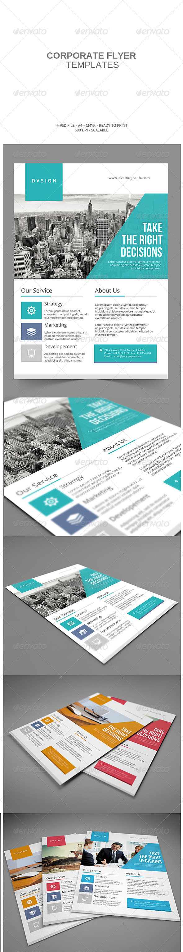 GraphicRiver Corporate Flyer 8160977