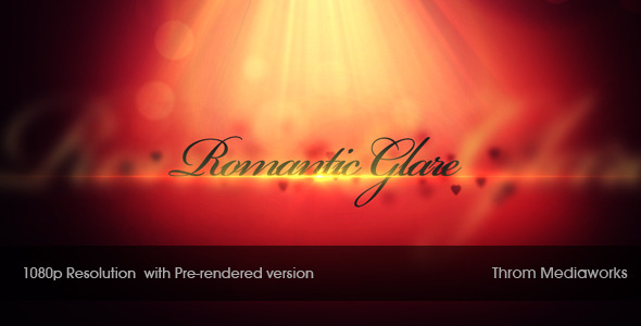 After Effects Project - VideoHive Romantic Glare 664048