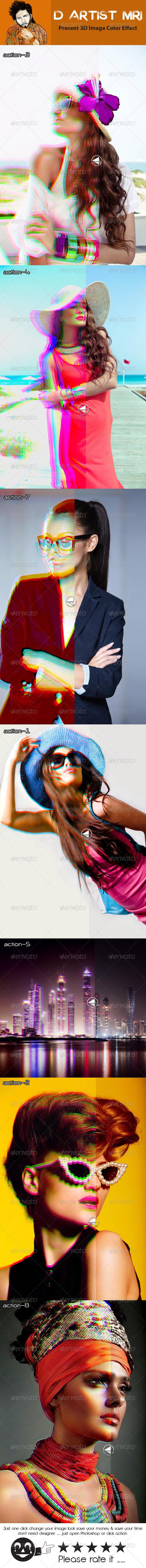 GraphicRiver 3D Image Color Effact 8189392