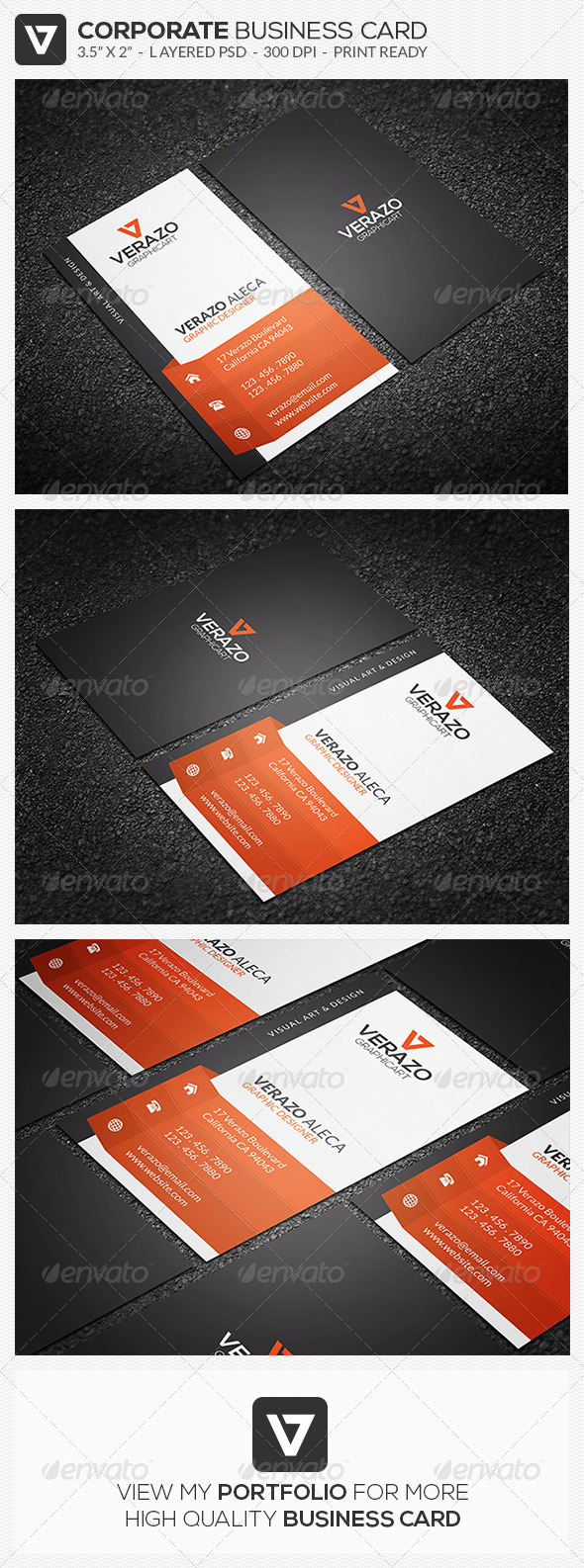 GraphicRiver Modern & Creative Business Card 46 8190336