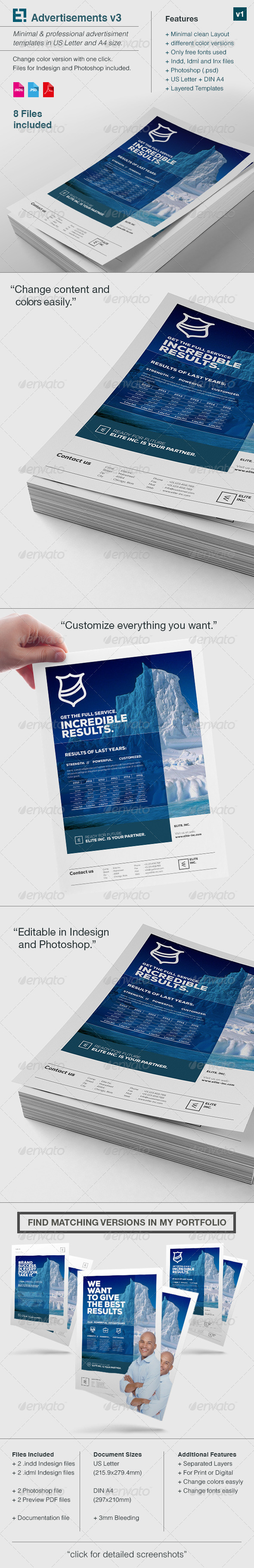 GraphicRiver Elite Business Flyer A4 US Letter v3 8190425