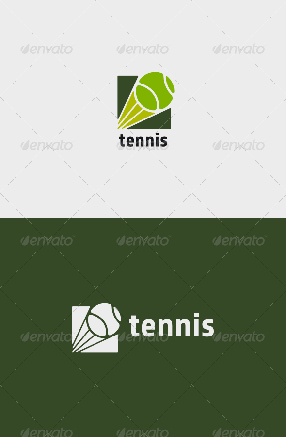 GraphicRiver Tennis Logo 8190438