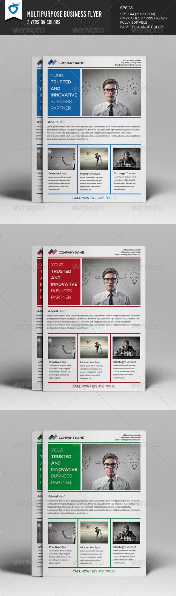 GraphicRiver Multipurpose Business Flyer v7 8184735