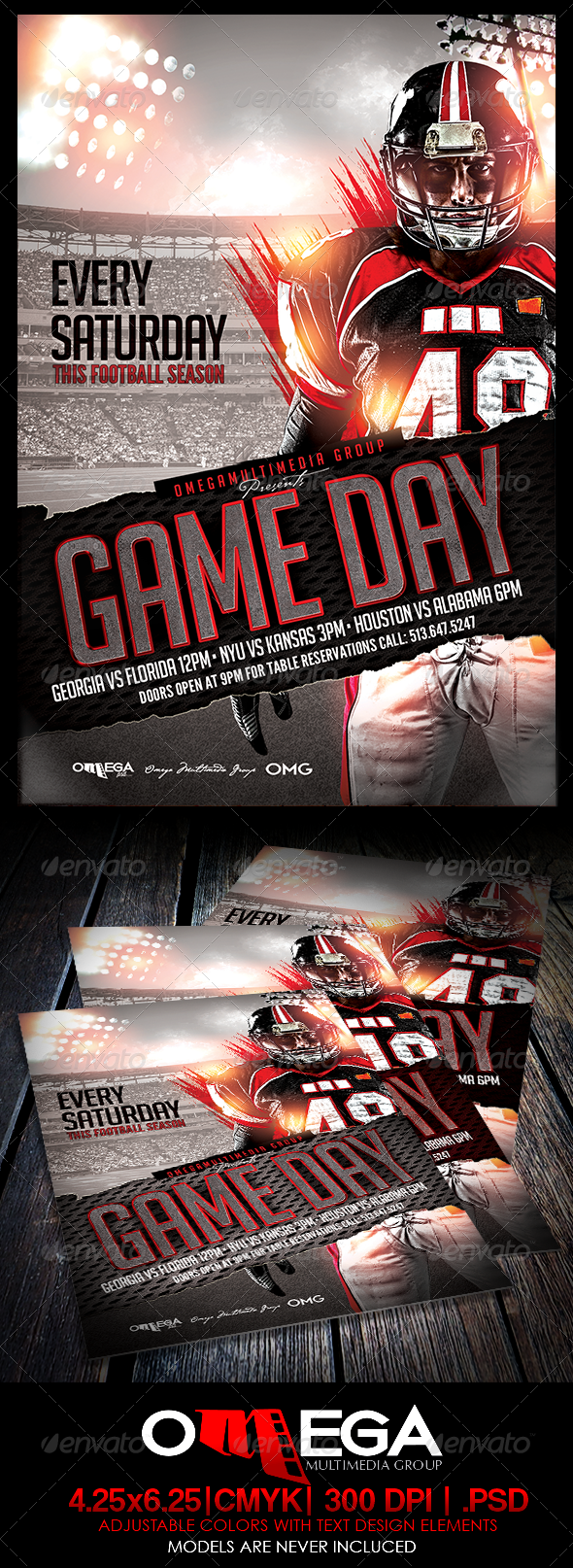 GraphicRiver Game Day 8190552